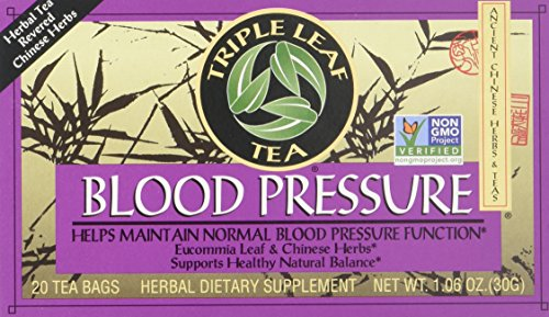 Triple Leaf Blood Pressure Tea Bags, 1.06 Ounce, 3 pk (Period Twice A Month After Plan B)