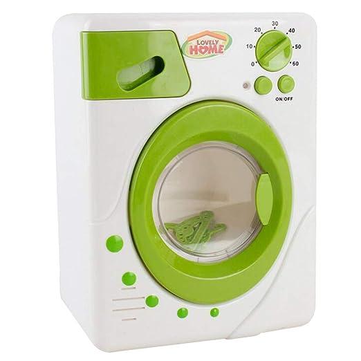 Simulación de desplazamiento de lavadora juguete en miniatura ...