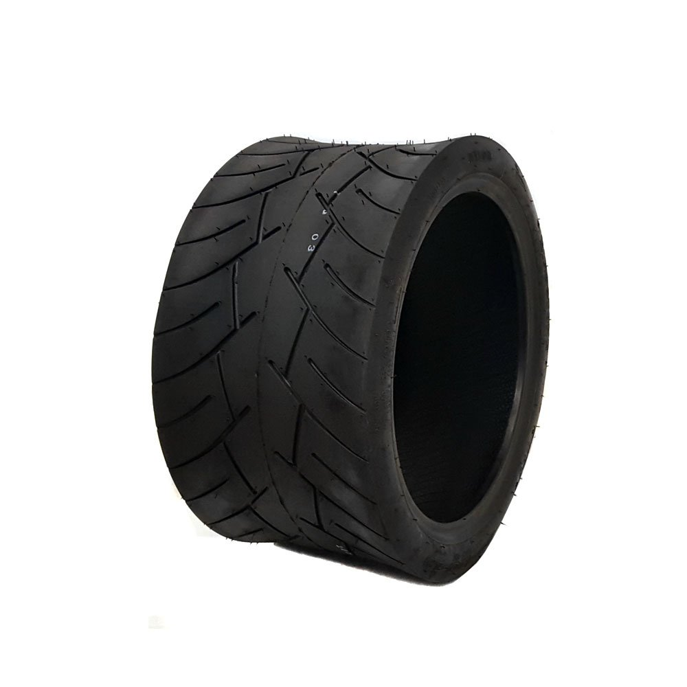 MMG Tubeless Type Street Tire Size 205/30-12 (Front or Rear) for Golf Cart, Honda Ruckus, Maddog Ruckus Clone and ATV/UTV Vehicles by MMG