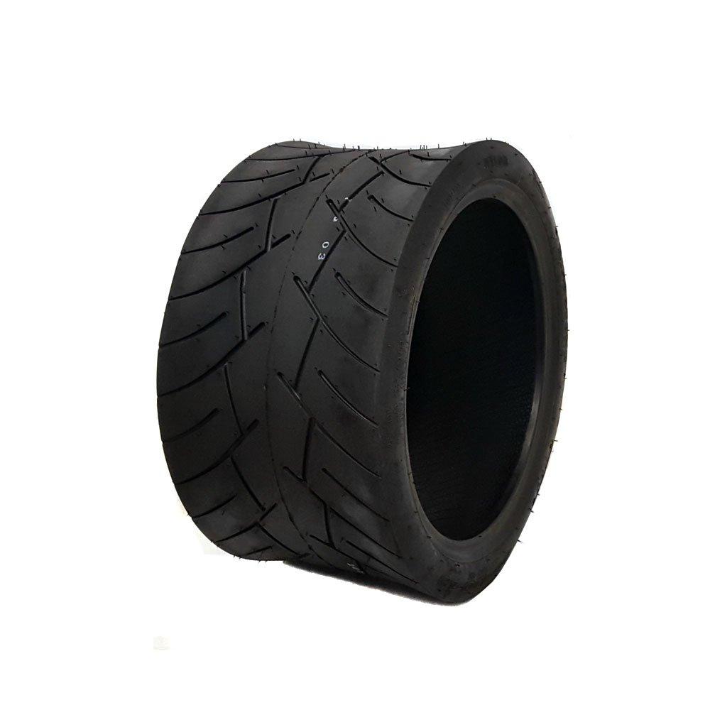 Tubeless Type Street Tire Size 205/30-12 (Front or Rear) for Golf Cart, Honda Ruckus, Maddog Ruckus Clone and ATV/UTV Vehicles