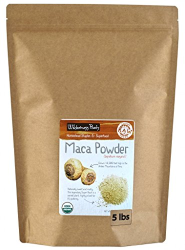 Wilderness Poets Organic Maca Powder