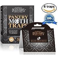 Dr. Killigan's Premium Pantry Moth Traps with Pheromone...