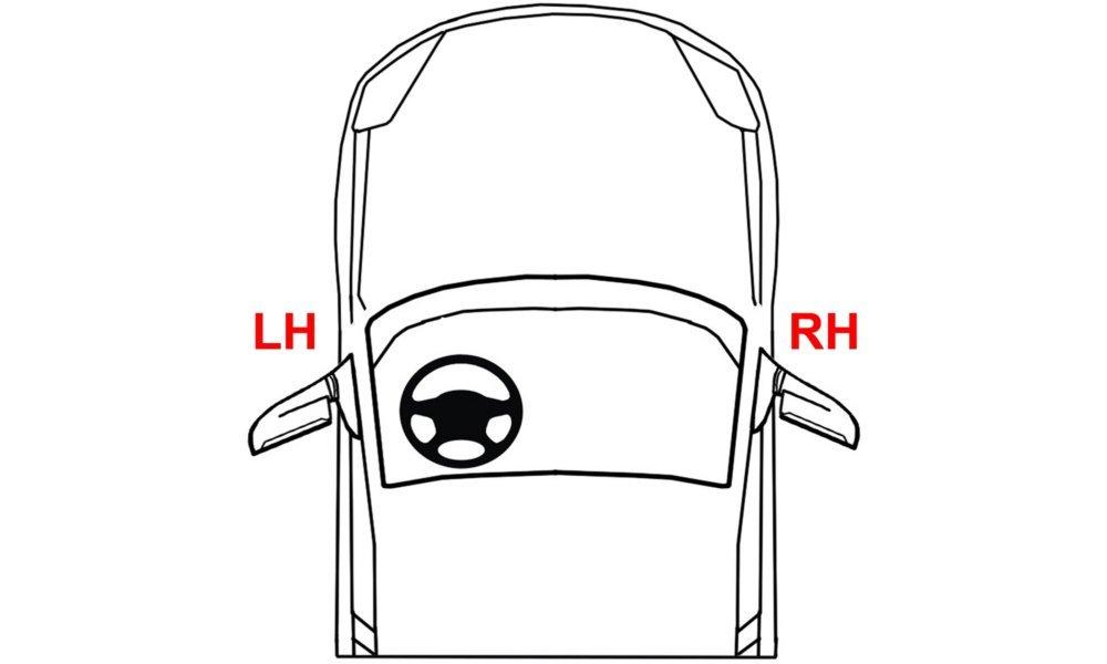 Fog Light Bracket for Dodge Ram Full Size P//U 09-17 Set Kit Steel
