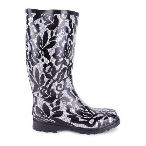 Footwear Sensation , Damen Gummistiefel , Mehrfarbig - mehrfarbig - Größe: 35