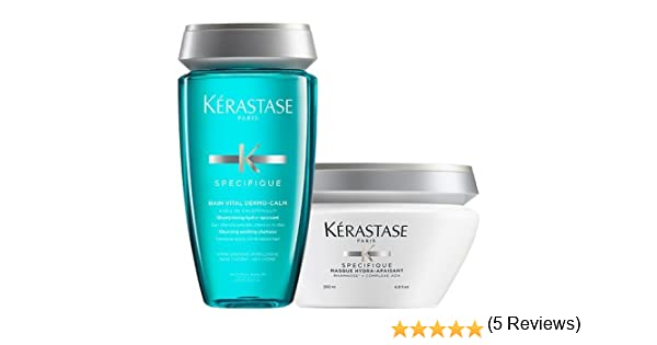 Kerastase Specifique Dermo-Calm Shampoo and Masque Duo Set: Amazon ...