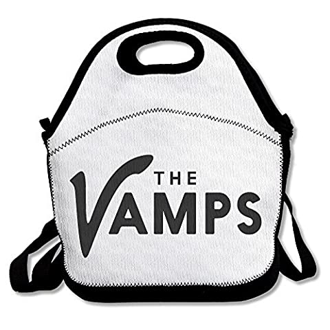 Black The Vamps Unisex Lunch Carry Bag For Woman Man Kid (In Hearts Wake Hoodie)