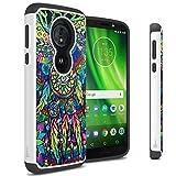 Moto G6 Play Case, CoverON Aurora Series Protective Hybrid Phone Cover with Rhinestone Diamond Bling for Motorola Moto G6 Play - Dream Catcher