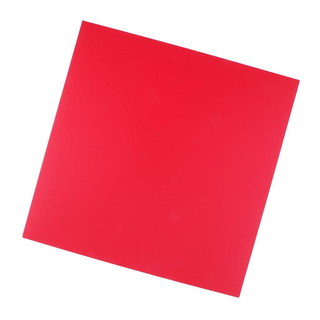 Baoblaze 5 Colors Iron On Heat Transfer Vinyl Square Sheet Silhouette Cricut Crafts - Gold