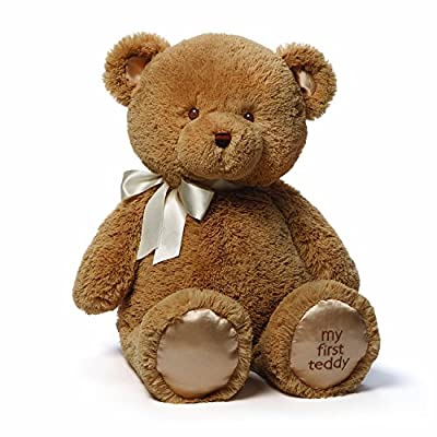 Gund Baby Gund My 1st Teddy Plush Toy, 24""