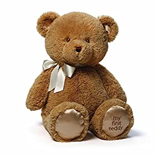 "Gund Baby Gund My 1st Teddy Plush Toy, 24"" - 51wRss0jBYL - Gund Baby Gund My 1st Teddy Plush Toy, 24″"