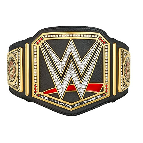 New Wwe Belt - WWE Championship Kids Replica Title Belt (2014) Gold/Black
