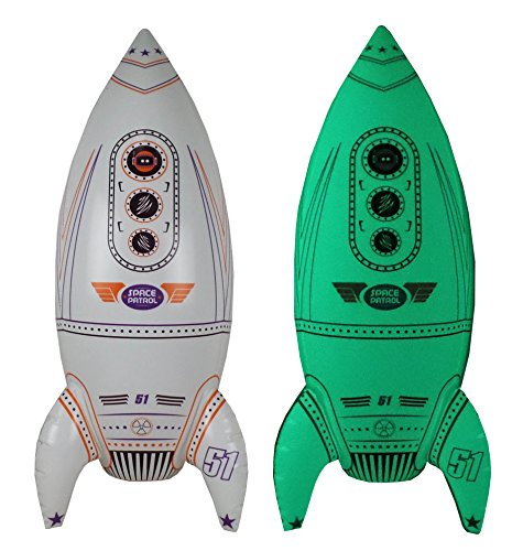 Inflatable Glow in the Dark Rocket Ship, 30