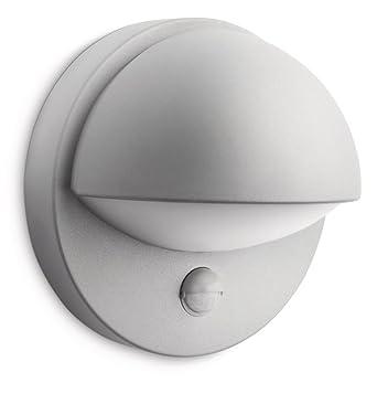 Philips myGarden June - Aplique para exterior, con sensor de movimiento, luz blanca cálida