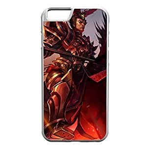 JarvanIV-002 League of Legends LoL case cover for Apple iPhone 6 Plus - Rubber White