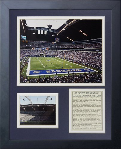Legends Never Die Dallas Cowboys Texas Stadium Framed Photo Collage, 11x14-Inch ()