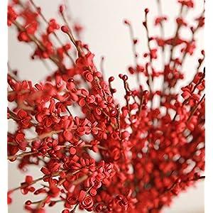 Beautiful & elegant artificial decorative jasmine flora flower bouquet set for home, table, desk, office, party, wedding, restaurant, shops indoor and outdoor decor (12 stems X 17.5 long) 2