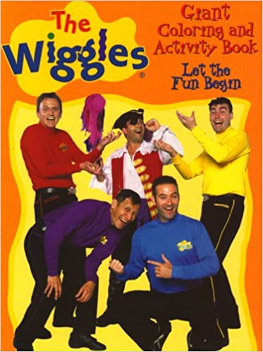 the wiggles giant coloring activity books let the fun begin wiggles coloring activity books modern publishing 9780766610514 amazoncom books - Wiggles Pictures To Print