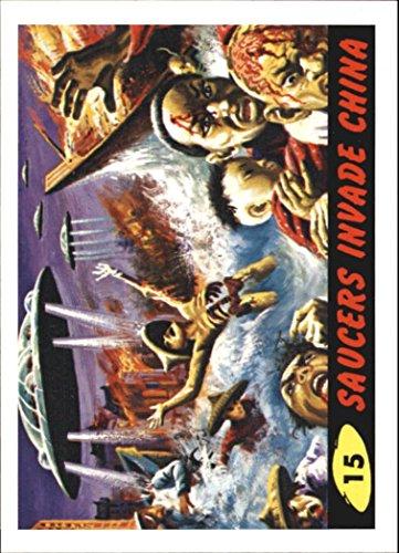 2012 Mars Attacks Heritage #15 Saucers Invade China