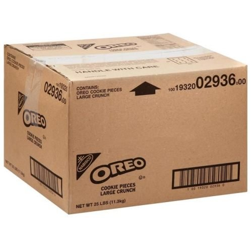 Oreo Pieces Large Crunch Cookie Crumbs 25 Lbs. Per Case