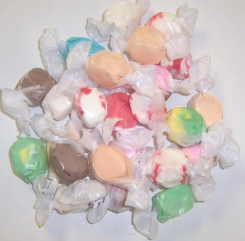 Scott's Cakes Assorted Nougat Salt Water Taffy in a 1 Pound Ornament Box