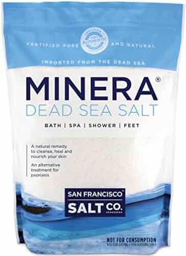 Minera Dead Sea Salt - 2 lb. Bag Fine Grain