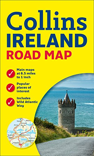 Ireland Road Map (Road Maps)