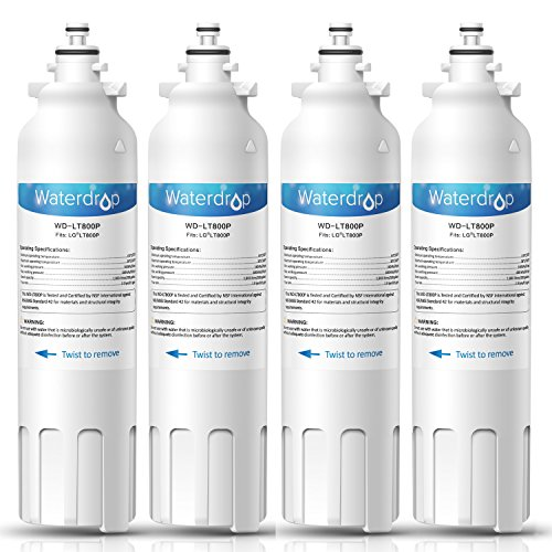 or Water Filter, Compatible with LG LT800P, ADQ73613401, Kenmore 9490, 46-9490, 469490, ADQ73613402, Standard, Pack of 4 ()