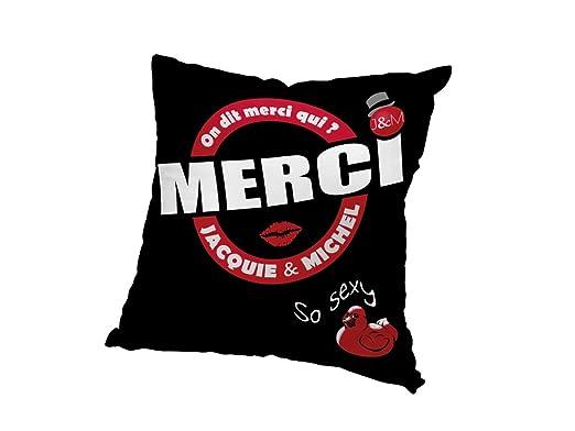 JACQUIE & MICHEL 537539 Funda de cojín 40x40 cm Jacquie et ...