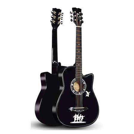 BAIYING Guitarra Acústica Principiante Canto De Viaje Juguete Bajo ...