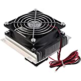 Radiator DIY Air Conditioning Radiator Cooling Fan Cooling System Electronic Components