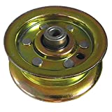LASER Flat Idler Pulley Replaces AYP, Sears, Craftsman, Husqvarna 177968 & 193197 - Fits 48 Inch Decks 2001 And Newer