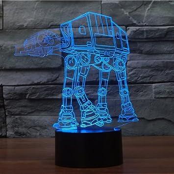 XANXUS visión ® Star Wars proyección 3d visuales LED mesa de luces de noche para niños