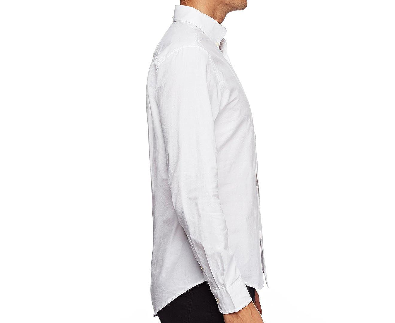 Tommy Hilfiger Mens Custom Fit Long Sleeve Buttondown Shirt
