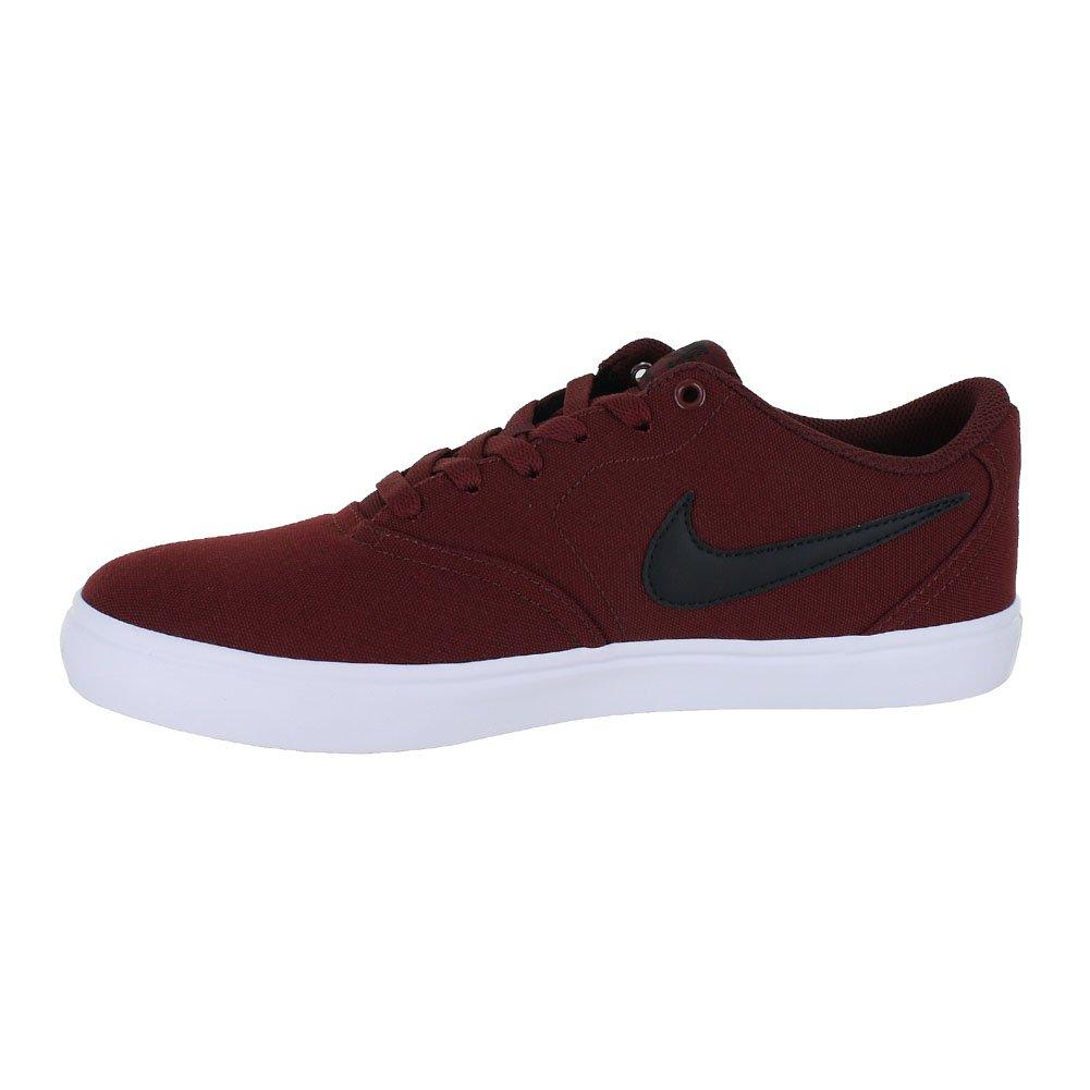 premium selection 91560 ce2ae Amazon.com   Nike 843896-611  SB Check Solarsoft Men s Dark Team Red Black  White Sneakers (14 D(M) US Mens)   Fashion Sneakers