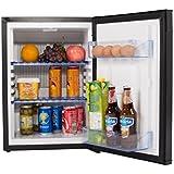 SMETA Portable Absorption Refrigerator LP Gas Beverage Truck Cooler Personal Fridge,1.2 cu ft,12V,110V