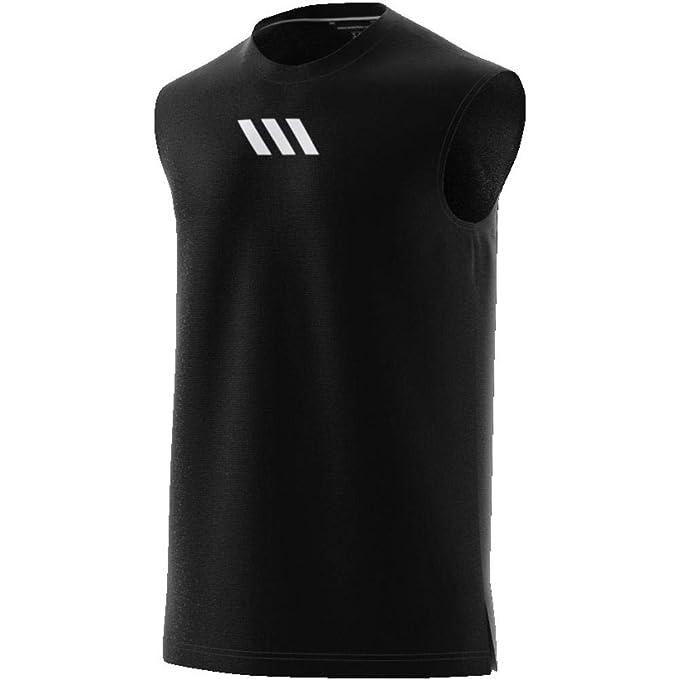 adidas PM SL Tank Camiseta de Baloncesto, Hombre