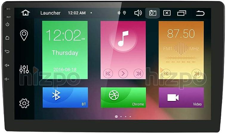 Hizpo Android 10 Octa Core 10 1 Inch Single Din Car Elektronik