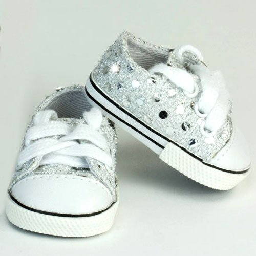 Buy doll shoes american girl sparkly