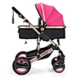 0--36 months baby stroller 2 in 1 stroller lie or damping folding light weight Two-way use four seasons (6)
