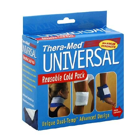 Thera-Med Cold Pack Maximum Strength Universal Reusable Cold Pack - 3PC