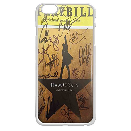 Playbill Hamilton Signatures iPhone case and samsung galaxy case (iPhone 6/6s White)