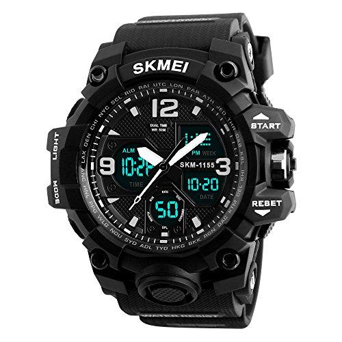 digital watch large display - 9