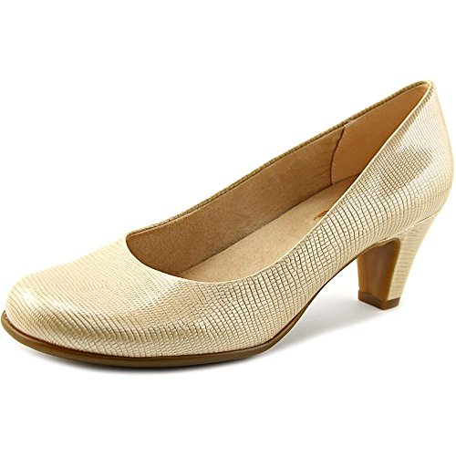 Aerosoles Womens Nice Play Round Toe Classic Pumps, Nude, Size - Round Nude And Brown