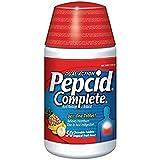 Dual Action Pepcid Complete, Tropical Fruit, 50 Chewable Tablets Per Bottle (6 Pack)