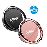 Best Stand Holder For IPhone Cellphones - AILUN Phone Ring Stand Holder[2 Pack] Universal 360° Review