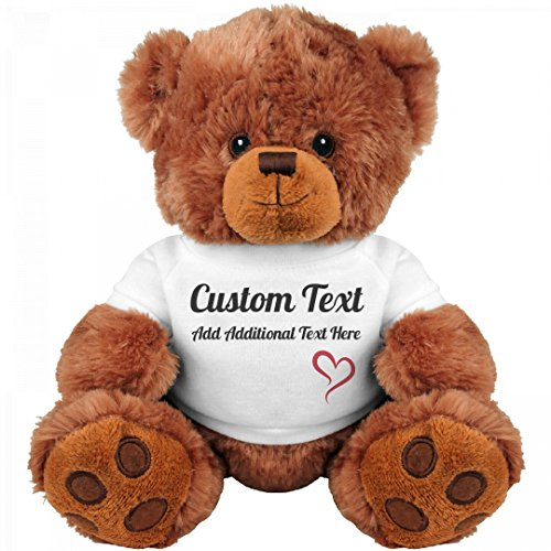Cute Custom Teddy Bear Gift: Medium Teddy Bear Stuffed Animal (Teddy Bears Gifts)