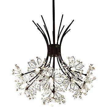 Garwarm Modern Firework Chandeliers Crystal Dandelion Chandelier