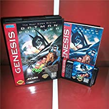 16 Bit Sega MD Game - Batman Forever US Cover with Box and Manual For Sega Megadrive Genesis Video Game Console 16 bit MD card - Sega Genniess , Sega Ninento , Sega Mega Drive