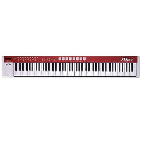 Amazon.com: midiplus USB MIDI keyboard controller X8 Pro: Musical Instruments