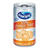 Ocean Spray 100% Orange Juice,  5.5 Ounce Mini Cans (Pack of 48)